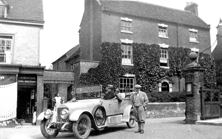 The Rectory, Alcester.  1927 |  IMAGE LOCATION: (Warwickshire County Record Office)