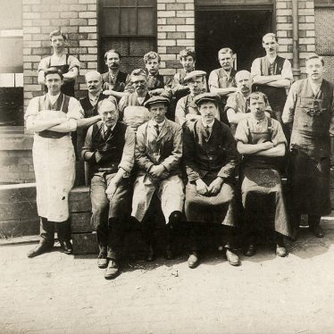 Alcester.  Group of workers