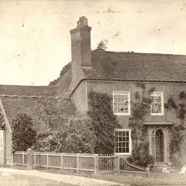 Alcester.  Oversley Hill,  Hayward's House
