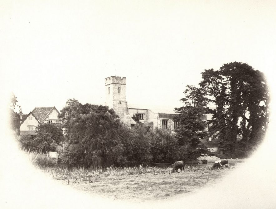 Church of St Laurence, Bidford on Avon.  1900s |  IMAGE LOCATION: (Warwickshire County Record Office)