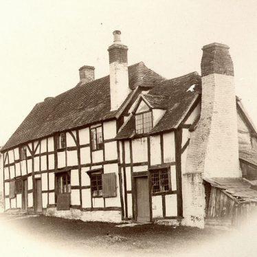 Wootton Wawen.  Timber framed cottage