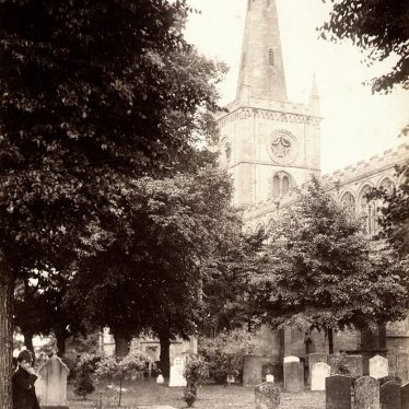 Stratford upon Avon.  Holy Trinity Church