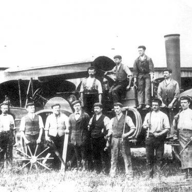 Salford Priors.  Bomford & Evershed, workers