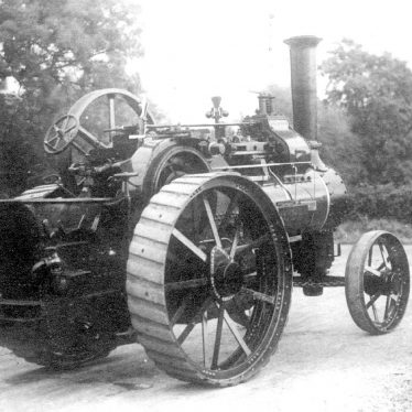 Salford Priors.  Bomford & Evershed, steam engine