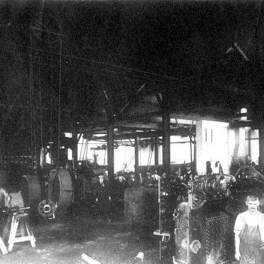 Salford Priors.  Bomford & Evershed, engineering works