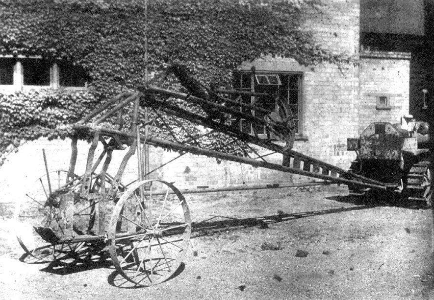 Piece of agricultural machinery made by Bomford and Evershed, Salford Priors.  1890s |  IMAGE LOCATION: (Warwickshire County Record Office)