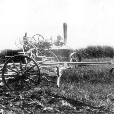 Salford Priors.  Agricultural machinery