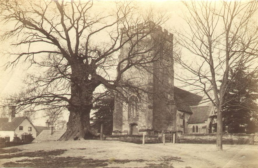 St Margaret's Church, Whitnash.  1860s |  IMAGE LOCATION: (Warwickshire County Record Office)