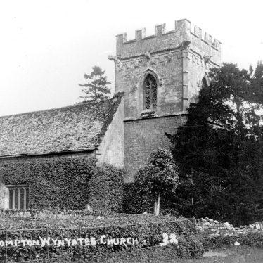 Compton Wynyates.  Church