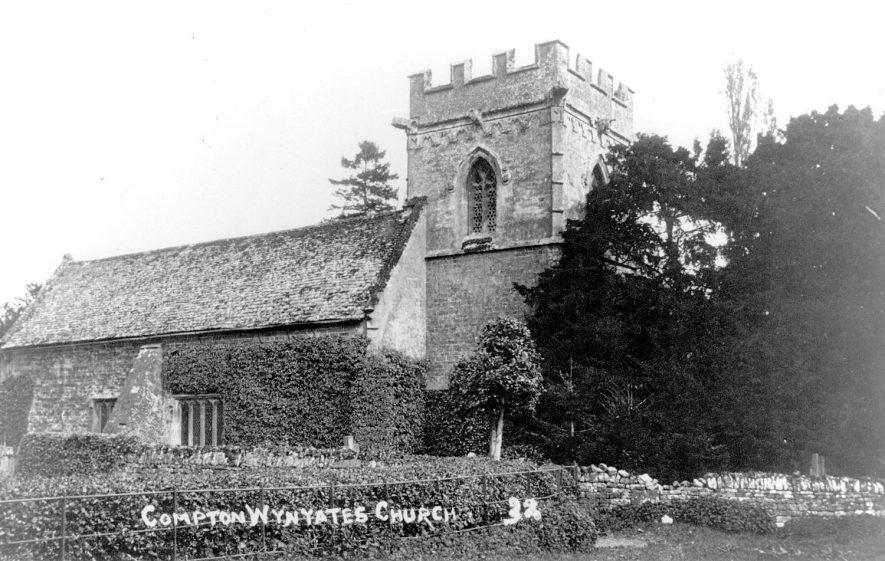 Compton Wynyates Church.  1920s |  IMAGE LOCATION: (Warwickshire County Record Office)