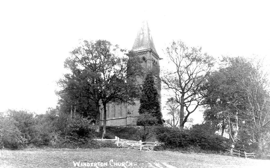 Winderton Church.  1920s |  IMAGE LOCATION: (Warwickshire County Record Office)