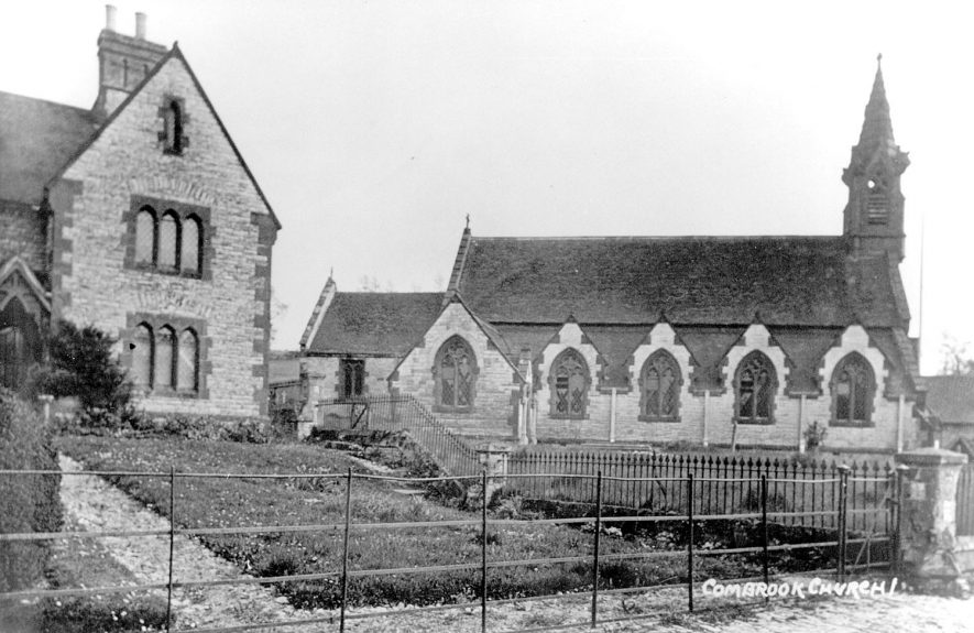 Church of Saint Mary and Margaret, Combrook.  1920s |  IMAGE LOCATION: (Warwickshire County Record Office)