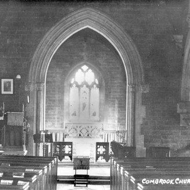 Combrook.  Church, interior
