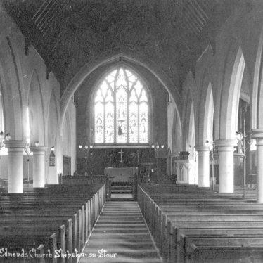Shipston on Stour.  St Edmond's church