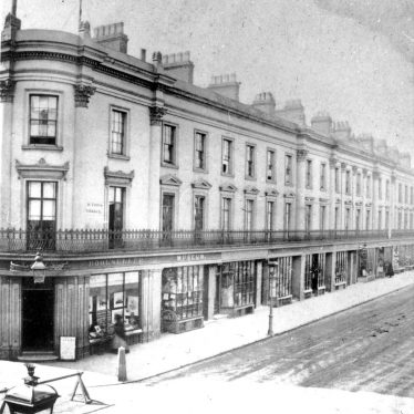 Leamington Spa.  Victoria Terrace