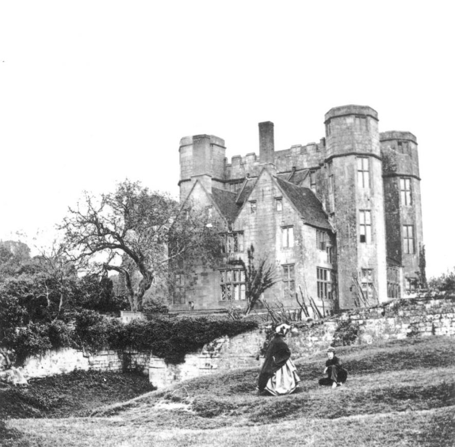 Leicester's gatehouse to Kenilworth Castle.  1860s |  IMAGE LOCATION: (Warwickshire County Record Office)