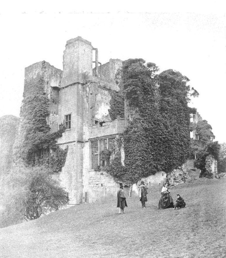 Leicester's Buildings at Kenilworth Castle.  1860s |  IMAGE LOCATION: (Warwickshire County Record Office)