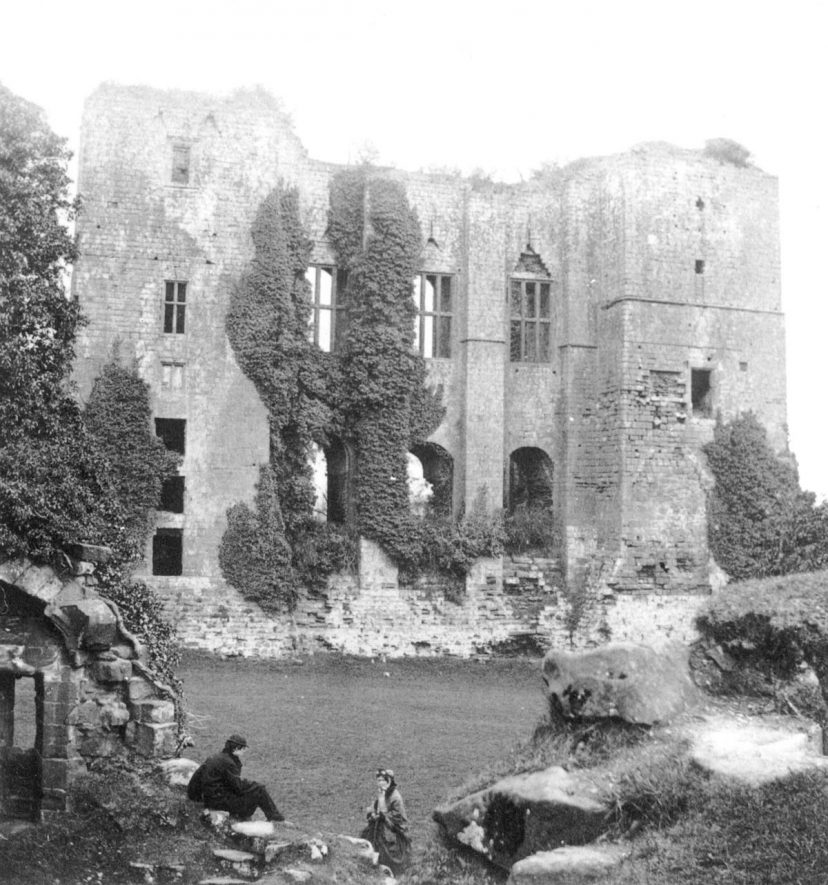 Caesar's Tower, Kenilworth Castle.  1860s |  IMAGE LOCATION: (Warwickshire County Record Office)