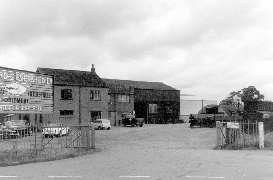 Premises of Bomford and Evershed,  Agricultural Engineers, Salford Priors.  1965 |  IMAGE LOCATION: (Warwickshire County Record Office)