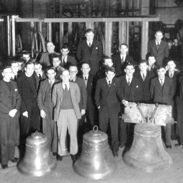 Salford Priors.  New church bells