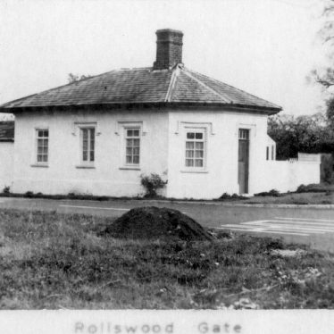 Alcester.  Rollswood Gate Turnpike House