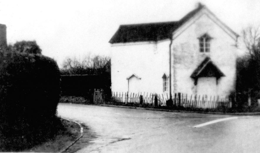 Wootton Wawen toll house on Alcester road.  1900s |  IMAGE LOCATION: (Warwickshire County Record Office)