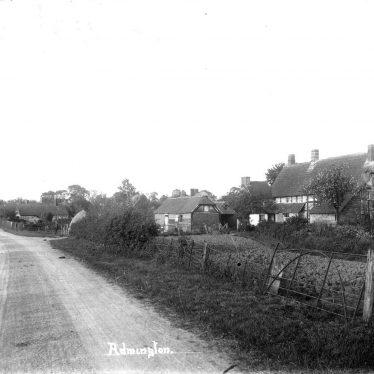 Admington.  Village scene