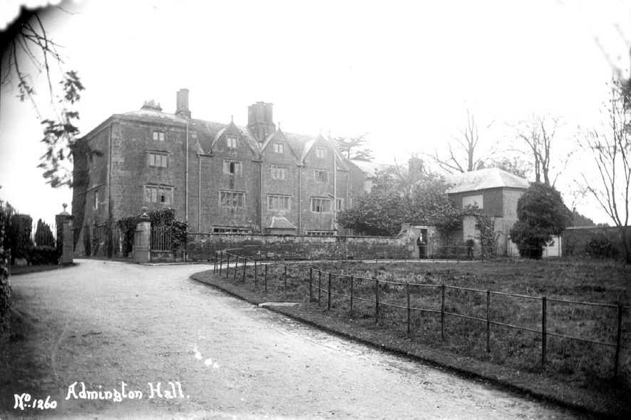 Admington Hall.  1900s |  IMAGE LOCATION: (Warwickshire County Record Office)
