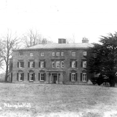 Admington Hall.