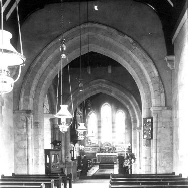 Alderminster.  View of the church interior