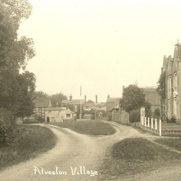 Alveston.  Village view