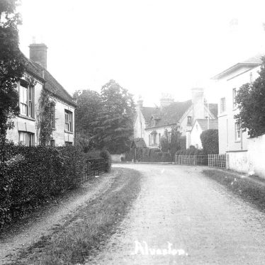 Alveston.  Village street