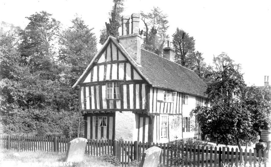 The Old Rectory, Alveston.  1920s |  IMAGE LOCATION: (Warwickshire County Record Office)