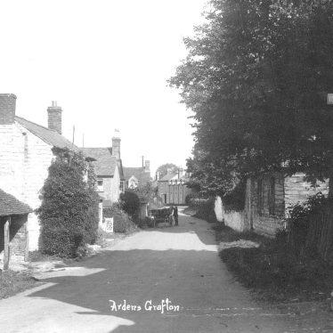 Ardens Grafton.  Village view