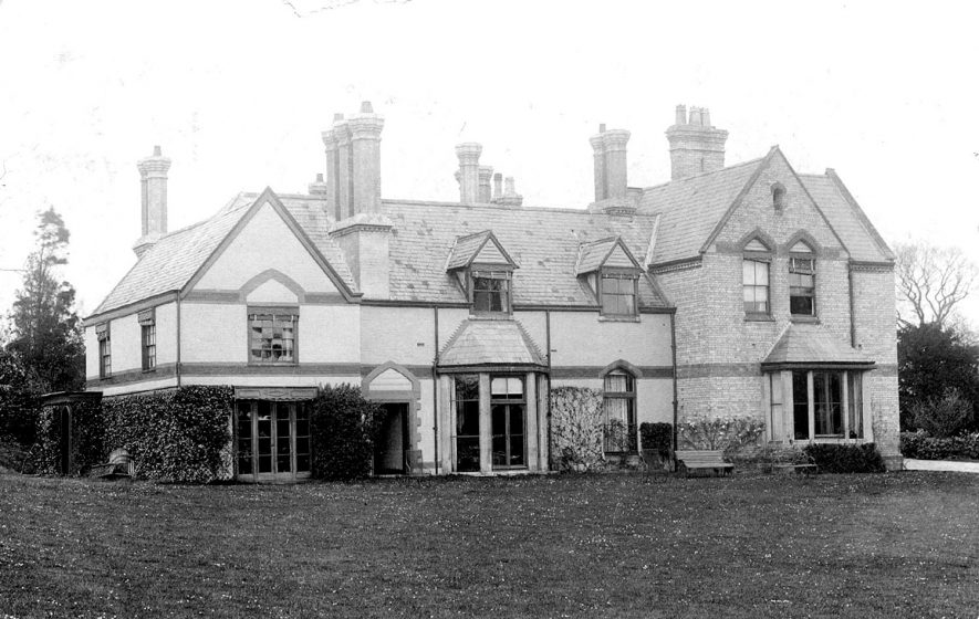The Rectory in  Arrow. 1905 |  IMAGE LOCATION: (Warwickshire County Record Office)