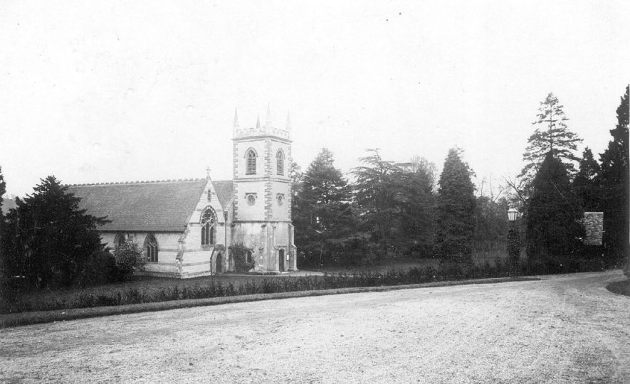 Holy Trinity Church, Arrow. 1904 |  IMAGE LOCATION: (Warwickshire County Record Office)