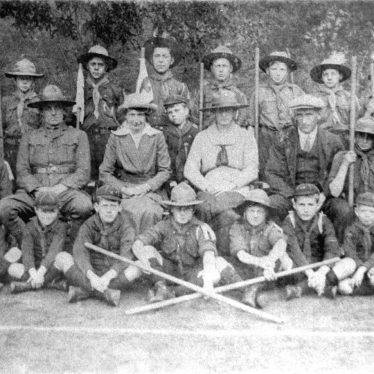 Ashorne.  A group of scouts