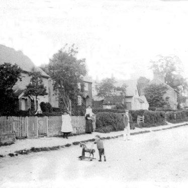 Ashorne.  Cottages