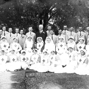 Brailes, Lower.  Red Cross nurses