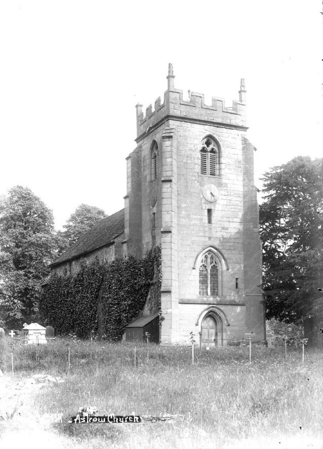 The Assumption of Our Lady Church, Ashow.  1920s |  IMAGE LOCATION: (Warwickshire County Record Office)