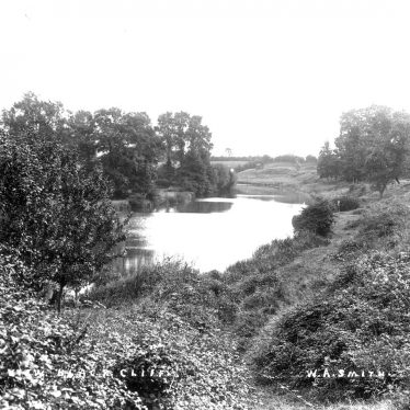 Ardens Grafton.  Black Cliff by the River Arrow