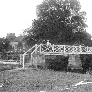 Ashow.  Footbridge