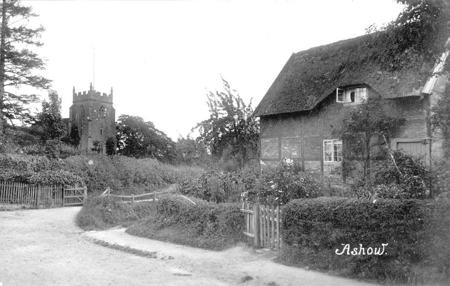 Ashow village scene.  1900s |  IMAGE LOCATION: (Warwickshire County Record Office)