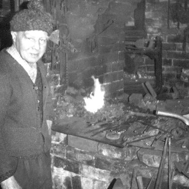 Beausale.  Harry Jackson, blacksmith