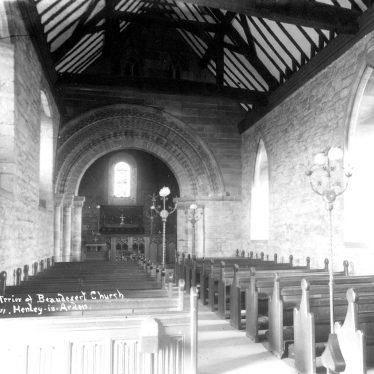 Beaudesert.  Church interior