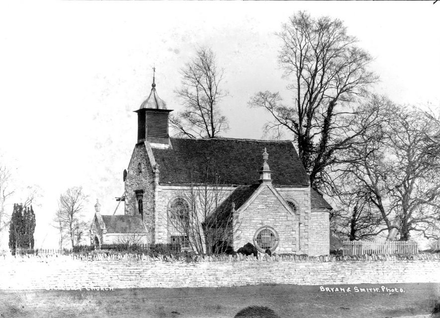 All Saints Church, Billesley.  1930s |  IMAGE LOCATION: (Warwickshire County Record Office)