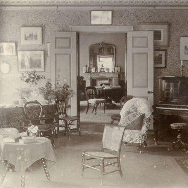 Cherington.  Cherington House [?] Interior