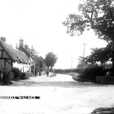 Bubbenhall.  Cottages