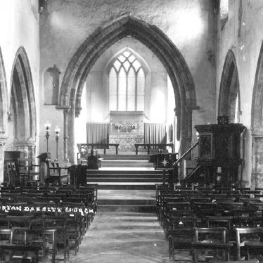 Burton Dassett.  Church interior