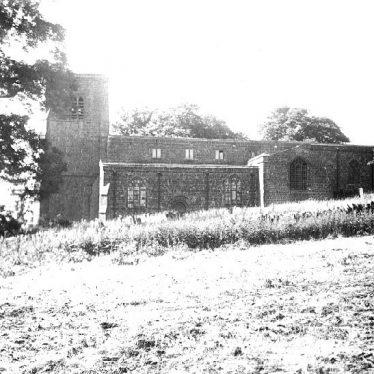 Burton Dassett.  Church exterior
